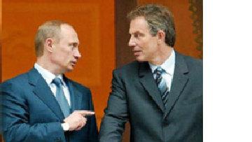 Блэр-Путин: задушевные друзья рассорились picture