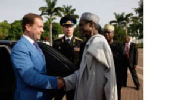 Из Кремля на сафари в Африку picture