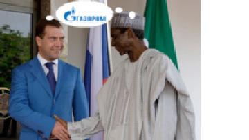 'Газпром' вложит 2,5 миллиарда долларов в нигерийский газ picture