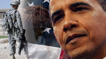 Афганистан Обама флаг США