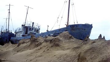 Бывший рыболовецкий флот Арала
