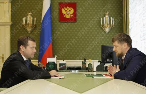 Д.Медведев Р.Кадыров