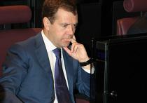 Президент РФ  Дмитрий Медведев компьютер