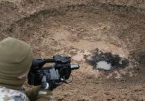На месте падения метеорита в Латвии