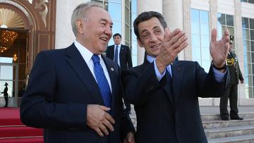 Государственный визит президента Франции Н.Саркози в Казахстан