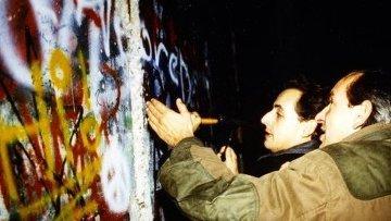 Саркози вспоминает день, когда пала Стена