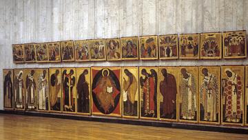 Иконостас церкви Петра и Павла в Кожевниках