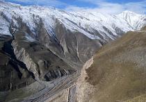 Участок Военно-Грузинской дороги