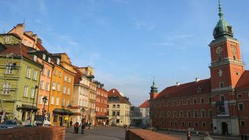 Дворцовая площадь в Варшаве