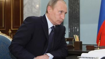 Владимир Путин с рабочей поездкой в Приморье