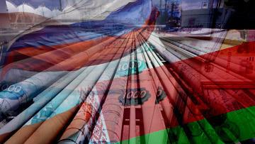Флаги Белоруссии и России