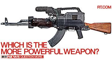 Рекламный плакат RT