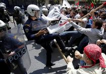 Америка протест полиция