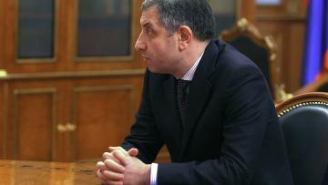 Встреча Владимира Путина с Зурабом Ногаидели