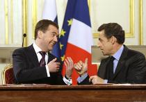 Д.Медведев с официальным визитом в Париже