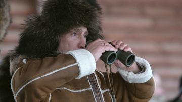 Владимир Путин на отдыхе в Хакасии
