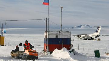 """Станция """"Новолазаревская"""" в Антарктиде"""