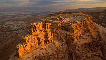 Руины крепости Масада