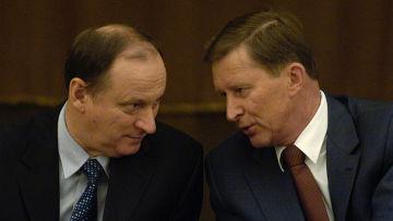 Николай Патрушев и Сергей Иванов