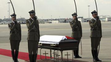 Церемония прощания с президентом Польши