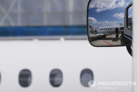 Кабина нового самолета Hawker 4000