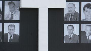 Прощание в Варшаве с жертвами авиакатастрофы под Смоленском