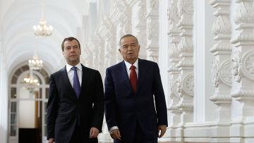 Официальный визит Ислама Каримова в Россию
