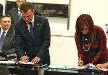 Официальный визит в Аргентину Д.Медведева