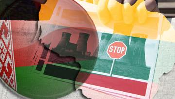 """Атомный """"тромб"""" возник в отношениях между Литвой и Беларусью"""