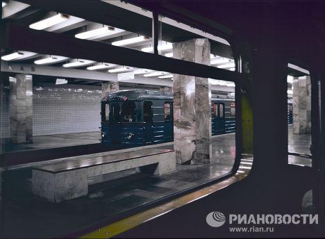 """Вестибюль станции """"Полежаевская"""""""