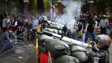 Массовые акции протеста оппозиции в Бангкоке