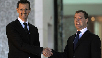 Официальный визит Дмитрия Медведева в Сирию