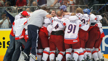 Сборная Чехии стала чемпионом мира по хоккею
