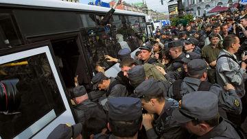 Митинг в поддержку 31-й статьи Конституции РФ в Санкт-Петербурге