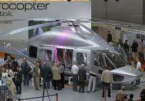 Вертолет EC175 компании Eurocopter на 3-й Международной выставке вертолетной индустрии HeliRussia-2010