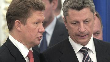 Подписание ряда совместных заявлений по итогам переговоров в Киеве