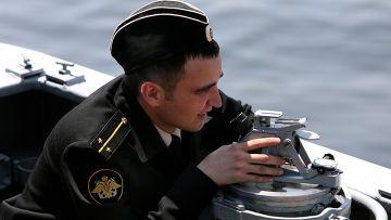 """Контрольный выход в море гвардейского ракетного крейсера """"Варяг"""""""