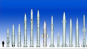 Сравнение баллистических ракет малой дальности, находящихся на вооружении разных стран