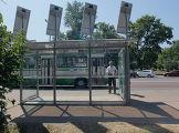 Автобусная остановка на солнечных батареях установлена в Москве