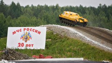"""Гусеничная машина """"Исеть-1"""""""