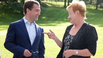Рабочий визит Дмитрия Медведева в Финляндию