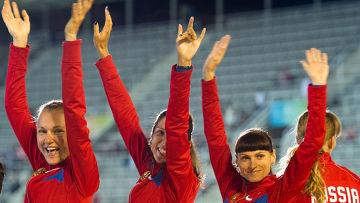 Женская сборная России стала чемпионом Европы в эстафете