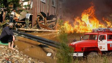 В России бушуют пожары, а Центральная Европа страдает от наводнений