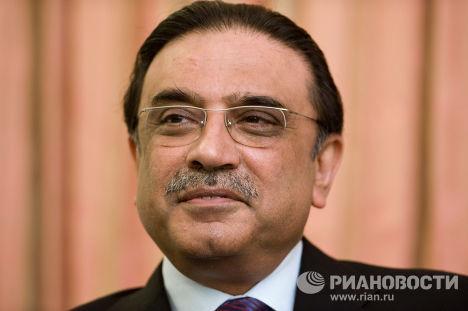 Президент Пакистана Асиф али Зардари в Душанбе