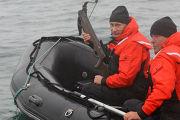 Владимир Путин посетил бухту Ольга