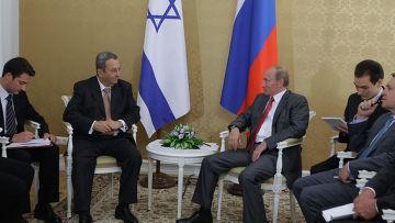 Встреча Владимира Путина с Эхудом Бараком