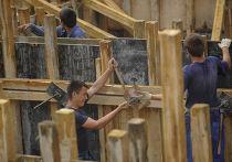 Строительство домов в деревне Верхняя Верея