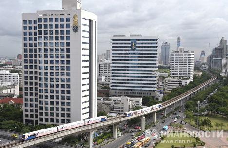 Виды столицы Таиланда - Бангкока.