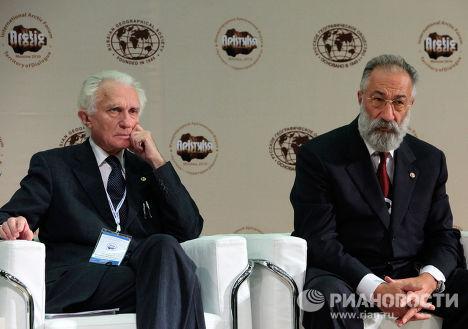 Владимир Котляков и Артур Чилингаров