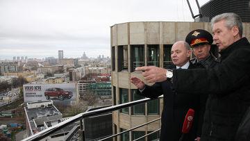 Сергей Собянин и Виктор Кирьянов